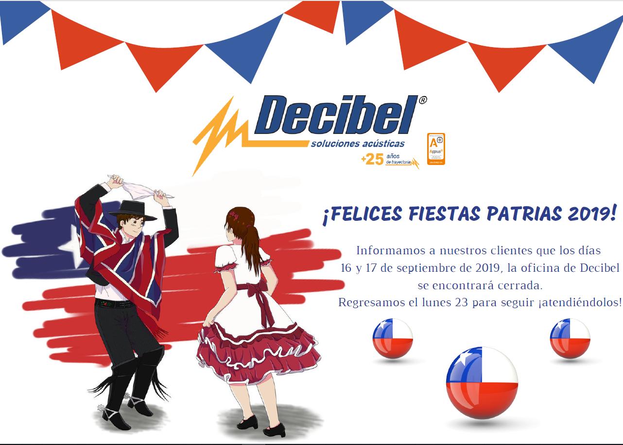 Felices Fiestas Patrias 2019